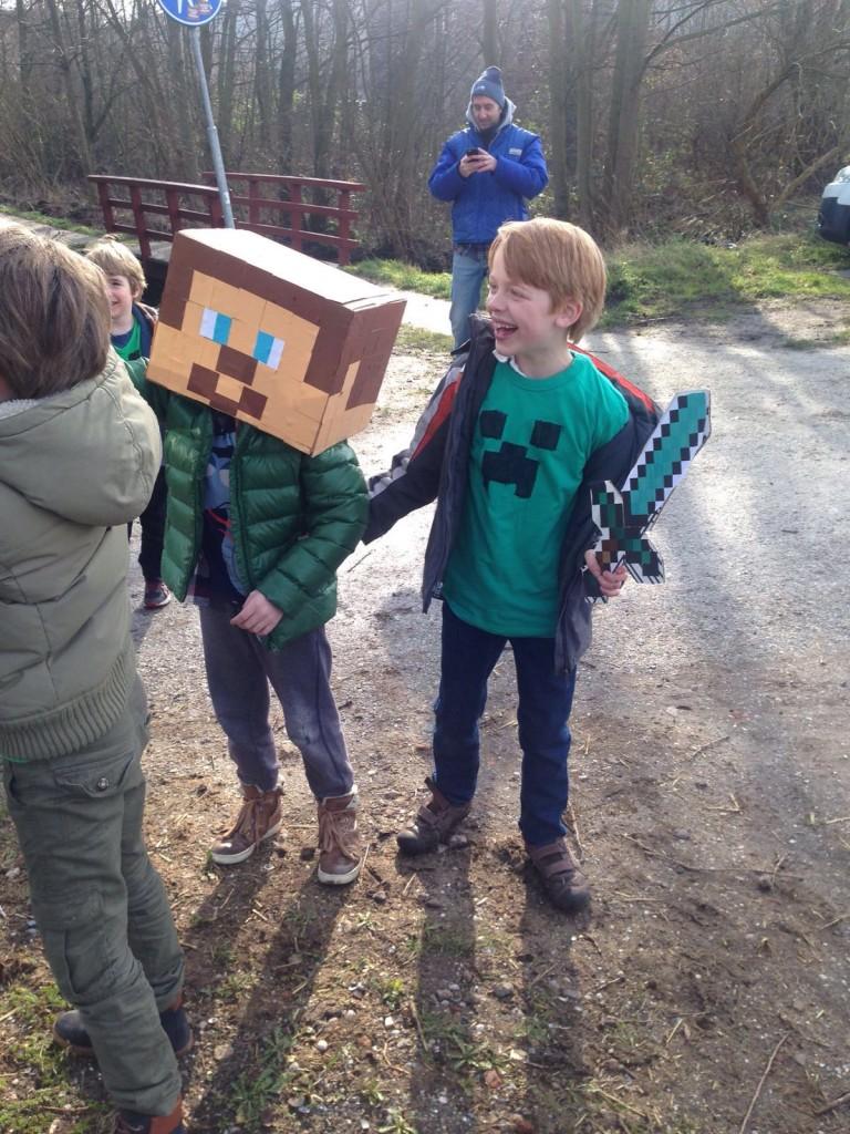 Minecraft feestje
